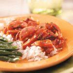 Smoked Kielbasa with Rice