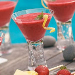 Lemon Raspberry Smoothies