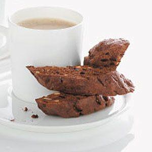 Chocolate Dunk-Shot Biscotti