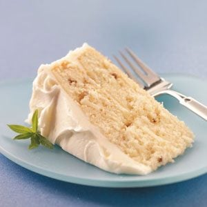 Makeover White Christmas Cake