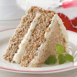 Holiday Walnut Torte