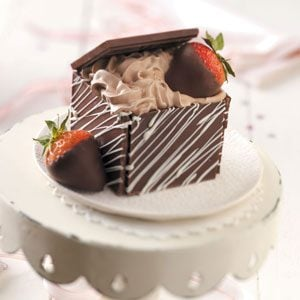 Chocolate Treasure Boxes