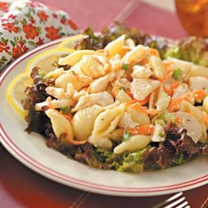 Crab Meat Pasta Salad