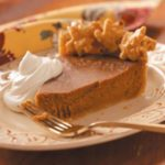 Autumn Apple Butter Pumpkin Pie