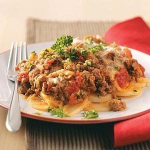 Potato Beef Lasagna