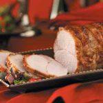 Cranberry Glazed Pork Roast