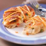 Crab Cakes with Red Chili Mayo