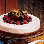 Simple Lemon Cheesecake