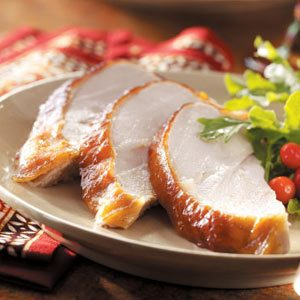 Apricot-Glazed Turkey Breast