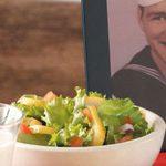 Spiced Pear Lettuce Salad