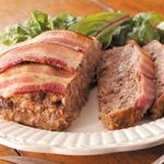 Bacon-Topped Venison Meat Loaf