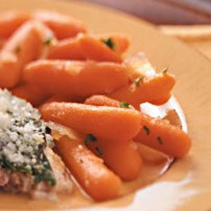 Carrots with Pineapple Glaze