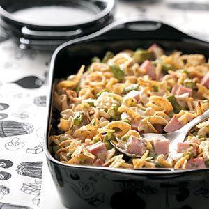 Ham & Asparagus Casserole