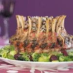 Crown Roast with Wild Rice Stuffing