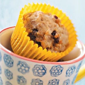Banana Date-Nut Mini Muffins