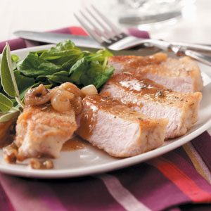 Gluten-Free Dredged Pork Chops