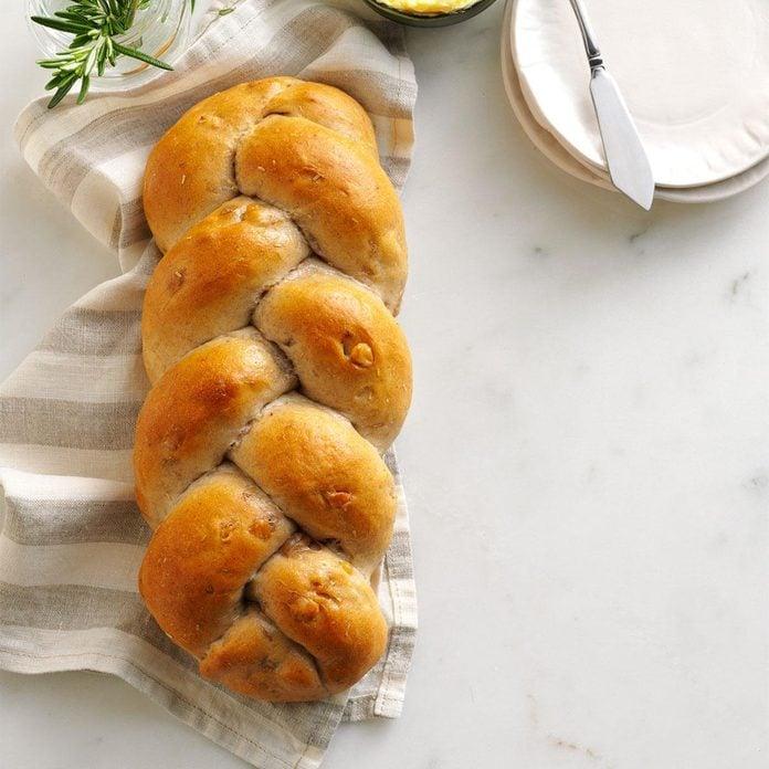 Rhode Island: Rosemary Walnut Bread