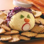 Monster Curried Cheese Ball
