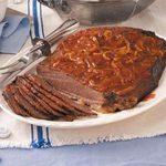 Old-Fashioned Beef Brisket