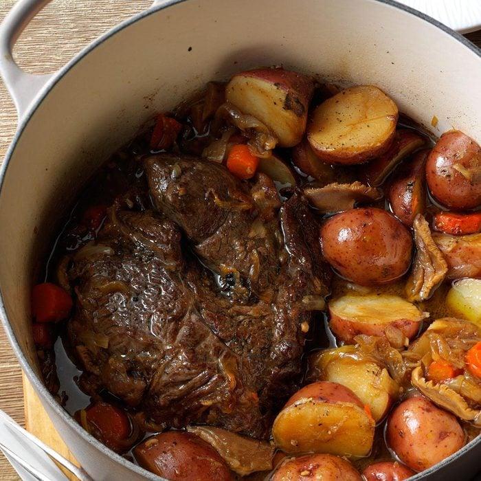 Stout & Shiitake Pot Roast