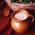 Lettuce with Cream Dressing