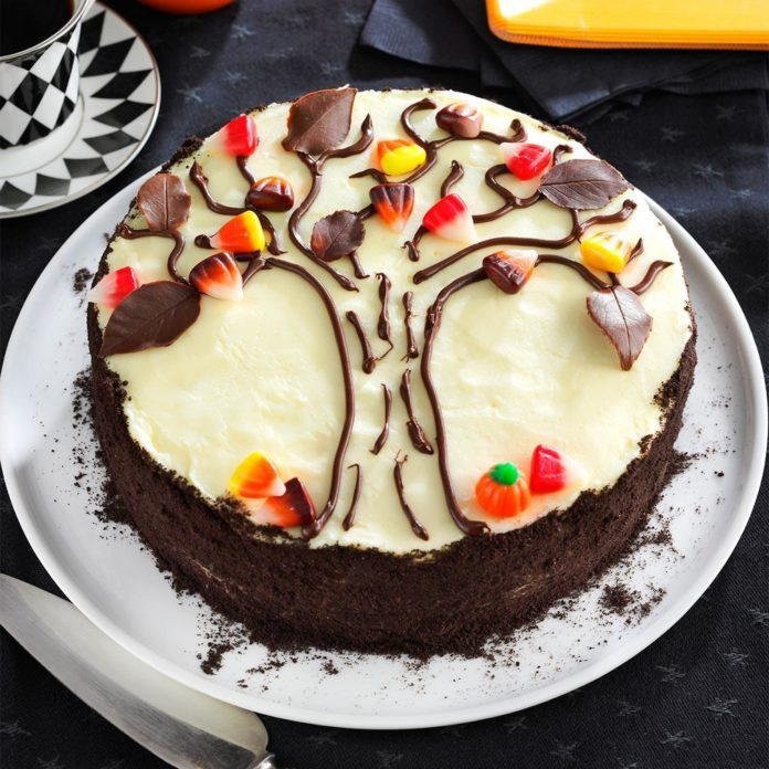 Autumn Tree Cake