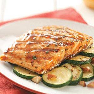 Thai Barbecued Salmon