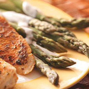 Asparagus with Dill Sauce