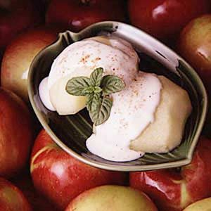 Nutmeg Sauced Apples