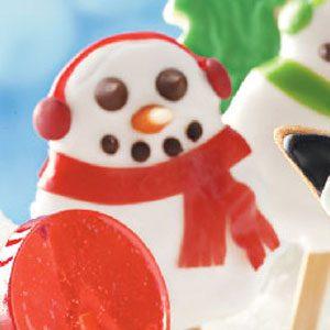 Jolly Snowman Cookies