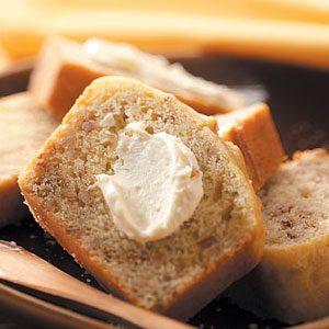 Orange Nut Bread & Cream Cheese Spread