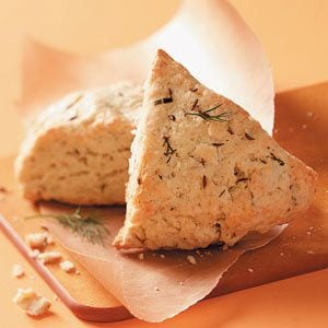 Savory Dill and Caraway Scones