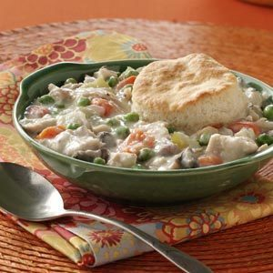 Chicken and Biscuits Potpie