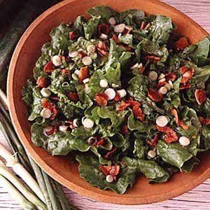 Tossed Wilted Lettuce Salad