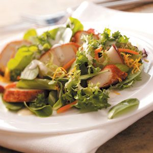Ranch Chicken and Cheddar Salad