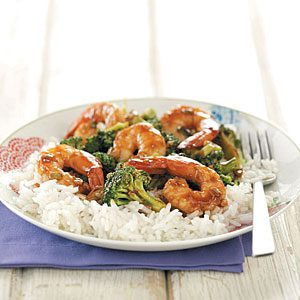 Hoisin Shrimp & Broccoli