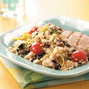 Greek-Inspired Quinoa Salad