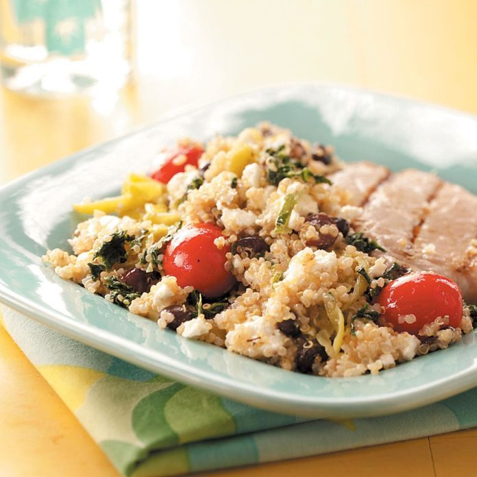 Inspired by: Modern Greek with Quinoa Salad