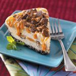 Toffee Caramel Ice Cream Pie
