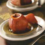 Almond Butter-Stuffed Pears