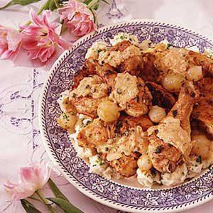 Chicken Paprikash with Spaetzle