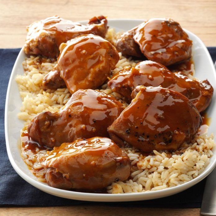 Teriyaki Chicken Thighs