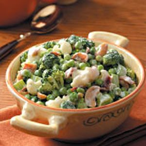 Green Pea Salad for 2