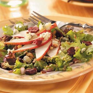 Hazelnut and Pear Salad
