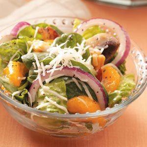 Orange Spinach Salad