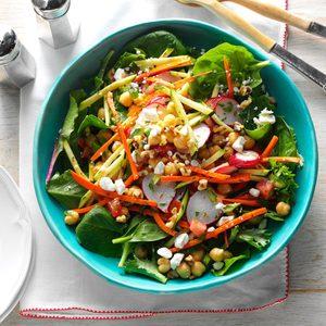 Garden Chickpea Salad