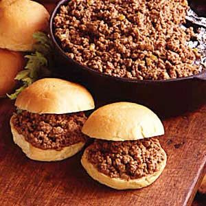 Church Supper Sloppy Joes