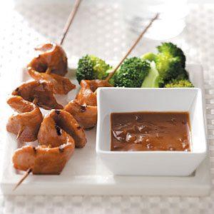 Grilled Pork Tenderloin Satay