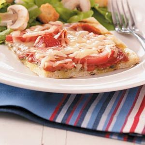 Pepperoni Provolone Pizzas