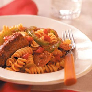 Robust Italian Sausage & Pasta